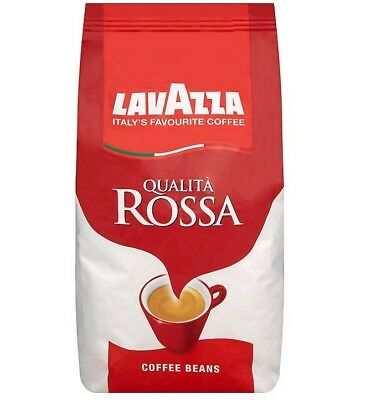 Lavazza Qualita Rossa Coffee Beans 1Kg - Luxury Italian Coffee - Brand New!