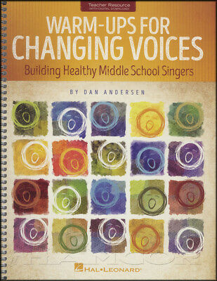 Warm-Ups for Changing Voices Vocal Music Book Building Middle School Singers