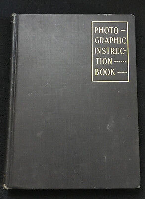 Photographic Instruction Book Townsend D Stith Illustrated 1903 Sears Roebuck Co