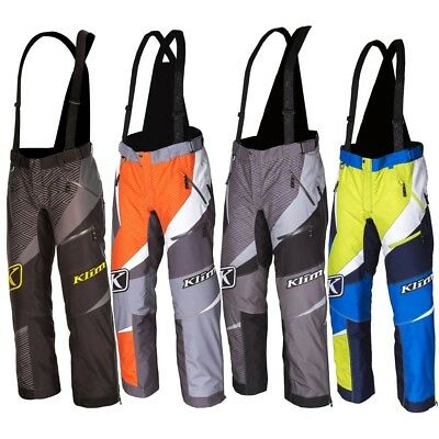 Klim Kaos Insulated Mens Snowmobile Parkas Cold Weather Winter Pants/Bibs