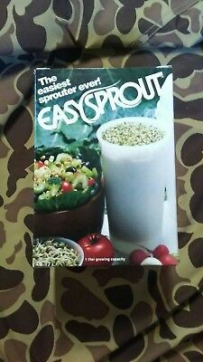 Easy Sprout Sprouter, Kitchen Gadget Sprout Grower, Sproutamo Co. Sprouter, NEW