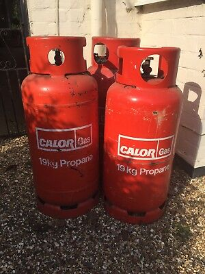 Empty 19kg Propane Calor Gas Canister