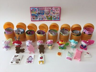 Kinder Surprise Hello Kitty Limited Edition Complete Set & BPZ ENGLAND 2017 Rare