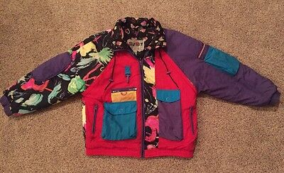 Vintage 80s East West by Panda Group JACKET - Size M - So RAD!