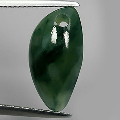 8.38Ct Genuine Unheated Burma Green Natural Jadeite Pendant Size Loose Gemstones