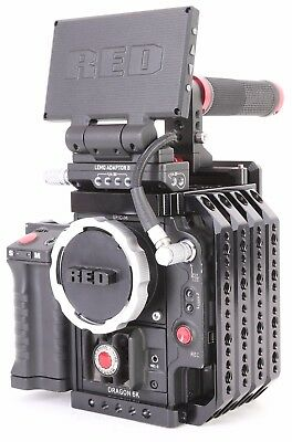Red Epic M Dragon 4K 6K Cinema Camera Kit With Accessories. Free Shipping.