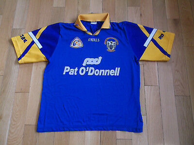 Clare O'neills Gaa Jersey,color Blue/yellow,size L