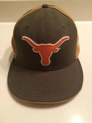 34fc647f061 TEXAS LONGHORNS NEW Era 59FIFTY Fitted Hat - Orange and Brown - 7 5 ...
