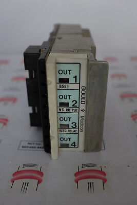 GOULD Modicon B596 N.C. OUTPUT REED RELAY NEW
