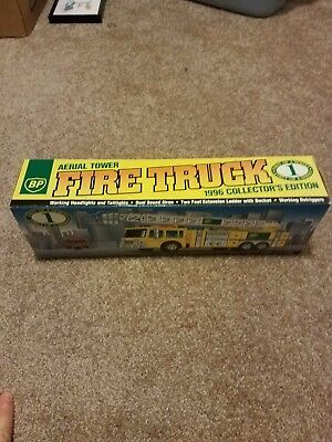 BP 1996 Aerial Tower Fire Truck Collector's Edition 1st Series