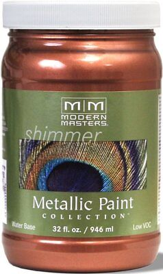Modern Masters Metallic Paint Collection Copper 32 oz