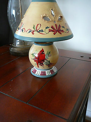 Lenox Winter Greating candle lamp
