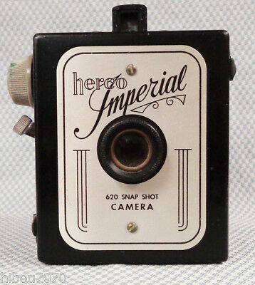 Vintage Herco Imperial 620 Snap shot camera, Herbert George Company, 1950's