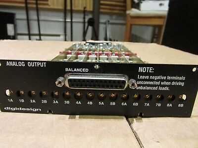 Output Analog card for AVID 192