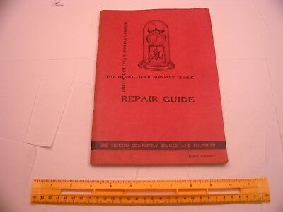 Book 30 - The Horolovar 400 Day Clock Repair Guide third edition