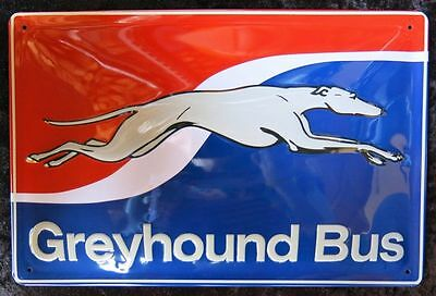 Greyhound Bus , Blechschild Usa