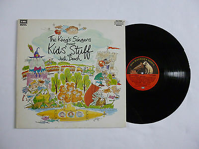 THE KINGS SINGERS ~ KIDS STUFF WITH JUDI DENCH ~ QUALITY NrM/EX+ '86 UK VINYL LP