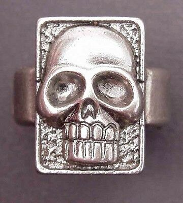 THE GHOST WHO WALKS  Phantom Skull Ring