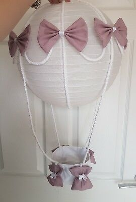 Hot Air Balloon Light Shade made to match milie and boris  Nursery Baby