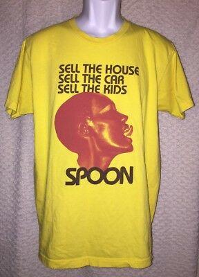 Spoon Sell the House Car and Kids T-Shirt Medium/Large American Apparel