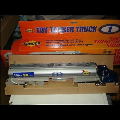 Rare !!  1994 Sunoco Toy Tanker Truck Collector Edition Serial #0252 of 1500