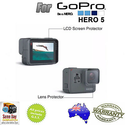 Tempered Glass Screen Protector Protective Film for GoPro Hero5 Camera Accessory