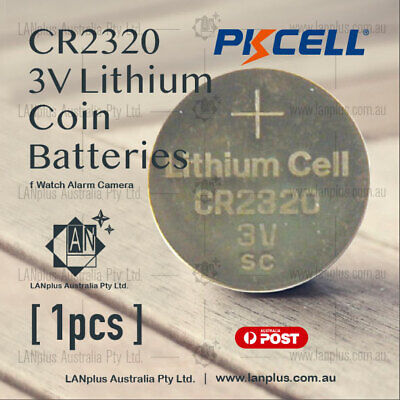 1 x CR2320 3V Lithium Battery STOCK IN Melbourne Button Coin Cell CR-2320