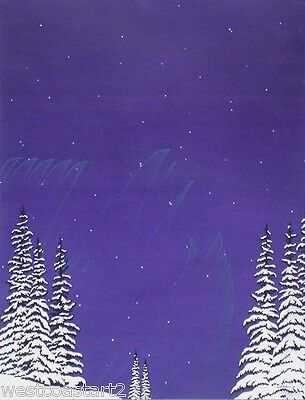 Arthur Vickers Painting Aurora Spirit Canadian Listed Native Artist Cost $10k