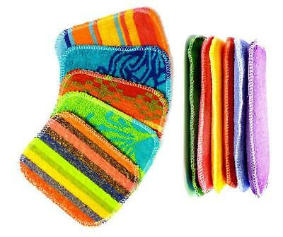 New EUROSCRUBBY Scrubby & Sponge Set, Euro Cleaning Cloth Non Scratch