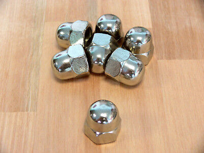 Domed cap nuts M3, 4, 5, 6, 8 Stainless steel , high Form , DIN 1587 , Cap nut