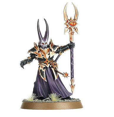 Warhammer Quest Shadows Over Hammerhal Chaos Sorcerer Lord