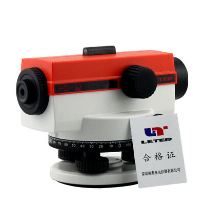 LETER optical level HD-32 precision and stability