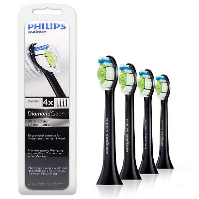 4 Philips Sonicare Diamond Clean TOOTHBRUSH HEADS HX6064