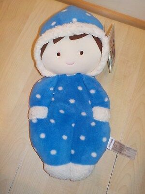 Harry Blue Doll Intelex Warmies Microwavable Lavender Scented Soft Toy