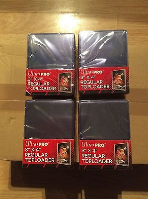 """Ultra Pro Trading Card Top Loaders - 100 Brand New Toploaders 76mm x102mm..3x4"""""""