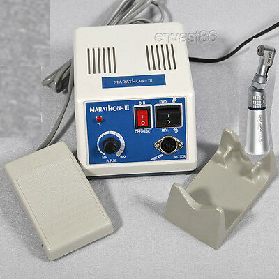 Dental Lab Electric Micromotor Marathon Polishing control + low speed handpiece