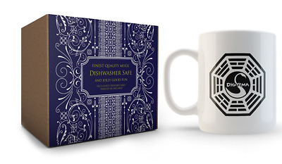 Dharma Mug inspired by Lost by Cultzilla