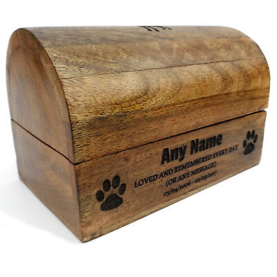 Pet Box Pet Urn Dog Urn Cat Urn Ashes Pet Cremation Box Treasure Chest