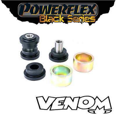 Powerflex Black Rear Toe Arm Inner & Outer Bushes BMW 3 Series 05-13 PFR5-411BLK