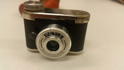 Walter Petie Miniature Camera