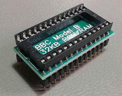 Acorn BBC (model A/B) solderless 32kB sideways RAM+ROM upgrade kit. Plug & play
