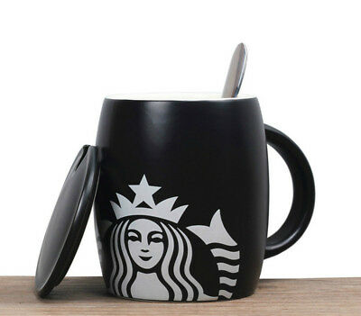 Starbucks coffee cup with spoon cup shipping