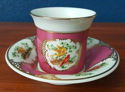 Avon European Tradition Collection France Teacup 1985 Cup and Saucer