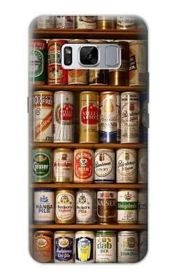 S0983 Beer Cans Collection Case For Samsung Galaxy S A E J Note