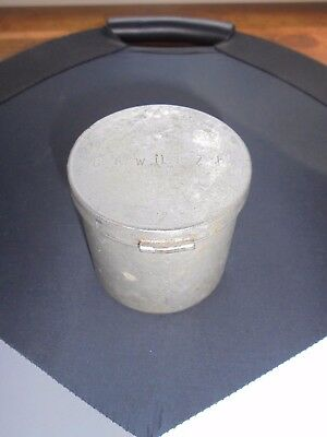Vintage Aluminum German Gewurze Spice Tin Caddy Container Kitchen Collectible