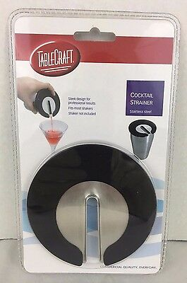 TableCraft Slotted Cocktail Strainer Stainless Steel Commercial Quality H411 NEW