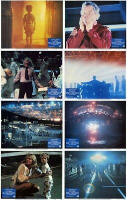 CLOSE ENCOUNTER OF THE THIRD KIND Lobby Cards (1978) Complete Set of 8