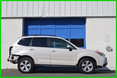 2014 Subaru Forester 2.5i Limited Repairable Rebuildable Salvage Lot Drives Great Project Builder Fixer Easy Fix