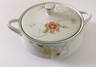 Fine China of Japan ANNABELLE 3020, 5001, 5002, 5005 ROUND COVERED SERVING DISH