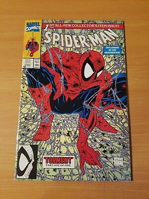 Spider-Man #1 Color Variant ~ NEAR MINT NM ~ (1990, Marvel Comics)Todd McFarlane